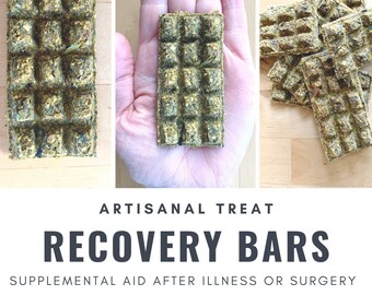 Recovery Bars | Supplemental Aid After Illness or Surgery | Bunny Rabbit, Guinea Pig, Chinchilla, Gerbil, Hamster, Rat, Mouse, Chicken
