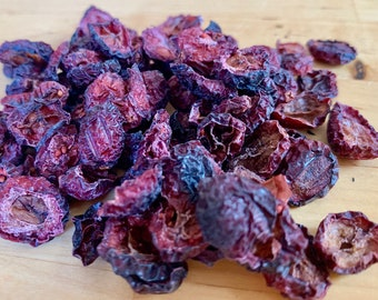 Cranberry Nibbles | 1 oz |  Organic Treat for Bunny Rabbit, Guinea Pig, Chinchilla, Hamster, Gerbil, Rat, Mouse | NO ADDED SUGAR