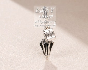2f627e986 Abby Jewelry S925 Sterling Silver Disney Mary Poppins Umbrella With CZ &  Enamel Dangle Charm bead Fits European Dora DIY Bracelets Necklaces