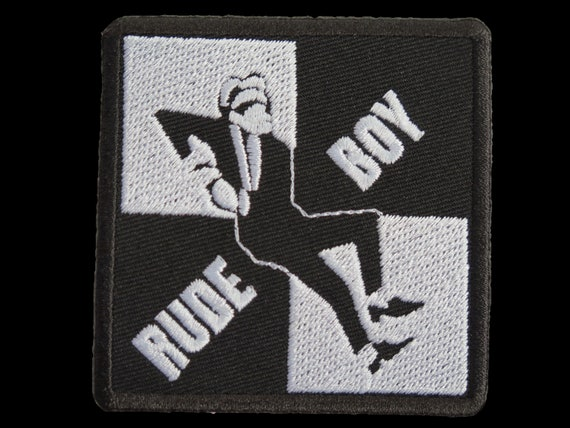 Sew On Patch Ska Music Rude Boy 3 Mod Patches Iron