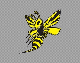 Wasp Decal Etsy