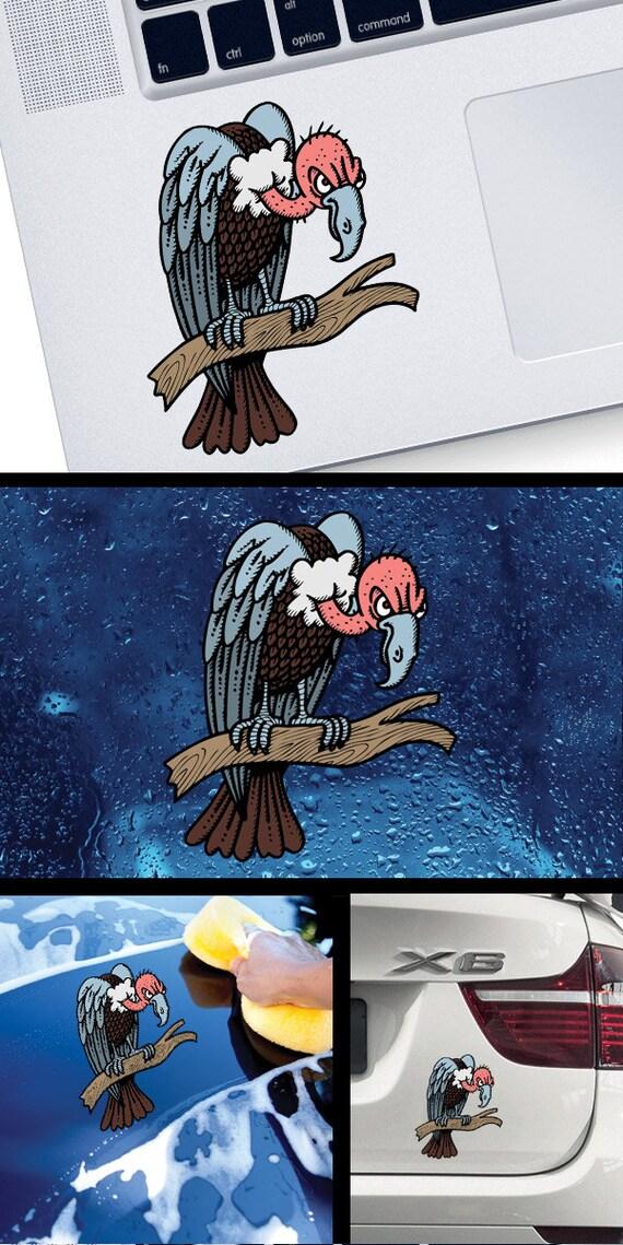 Couleur Sticker Autocollant Vautour Illustration Xwwww
