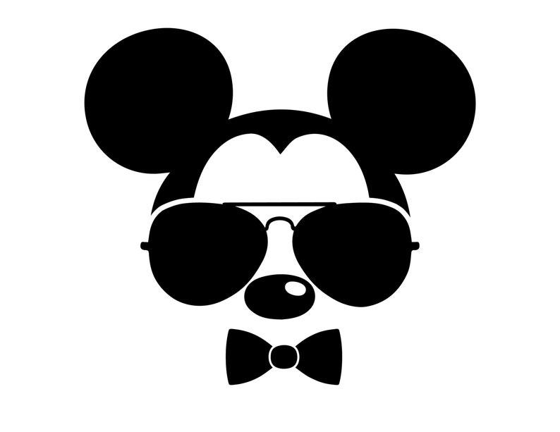 9c7f46c248 Mickey Mouse sunglasses SVG Mickey svg Disney svg Disney