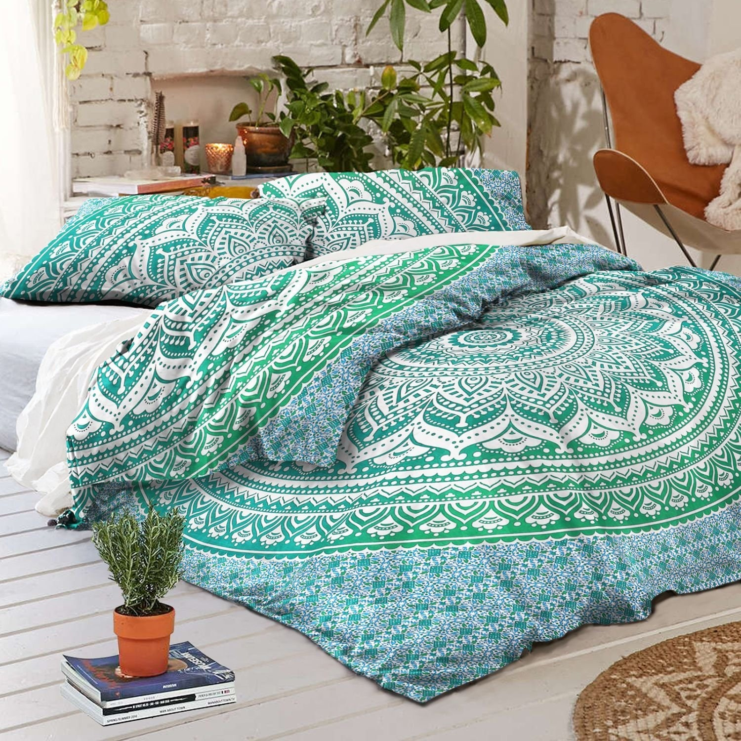 Bedding Hippie Mandala Quilt Cover Blanket Throw Indian Twin Duvet Cover Bedding Set Home Furniture Diy Pneumec In