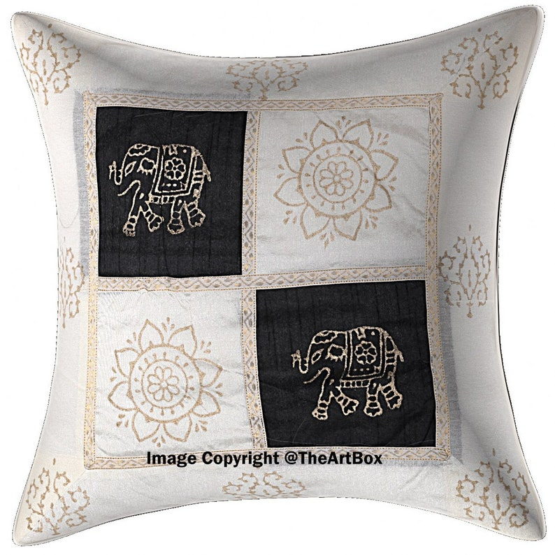 US SELLER-2pcs bohemian yoga cushion cover decorative pillows for couch