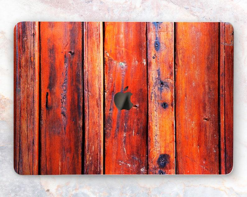 promo code f600f 1cdf6 Real wood MacBook Air 13 skin Colorful paint Mac Book Pro cover Mac Retina  12 Macbook 15 decal Mac Touch bar vinyl Wooden Macbook skin 2018