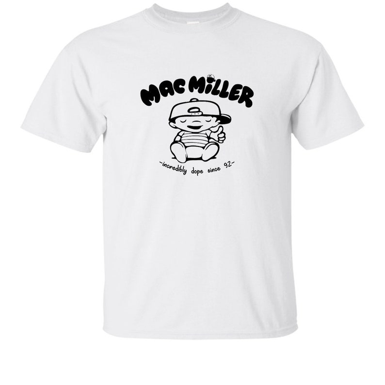 wholesale dealer 44808 c4800 Mac Miller Incredibly Dope Since 92 Man T Shirt Rap Hip Hop   Etsy