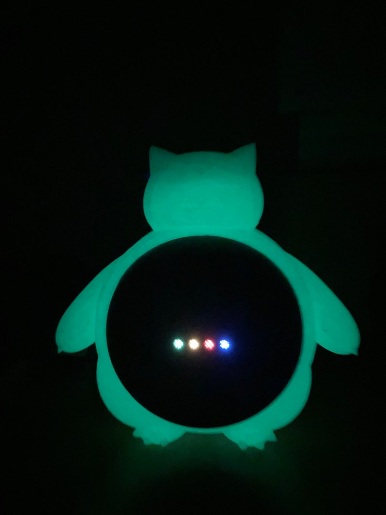Google Home Stand Snorlax glow in the dark