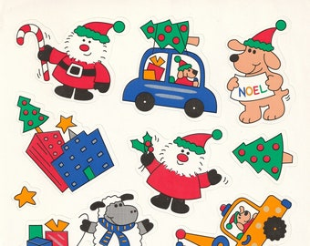 """Large Single Sticker Sheet by Current, Christmas and Holiday, """"Christmas Fun"""" #21254-9"""