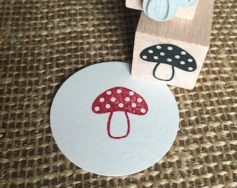 Stamp toadstool