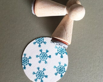 Mini-Stamp Snowflake No.2