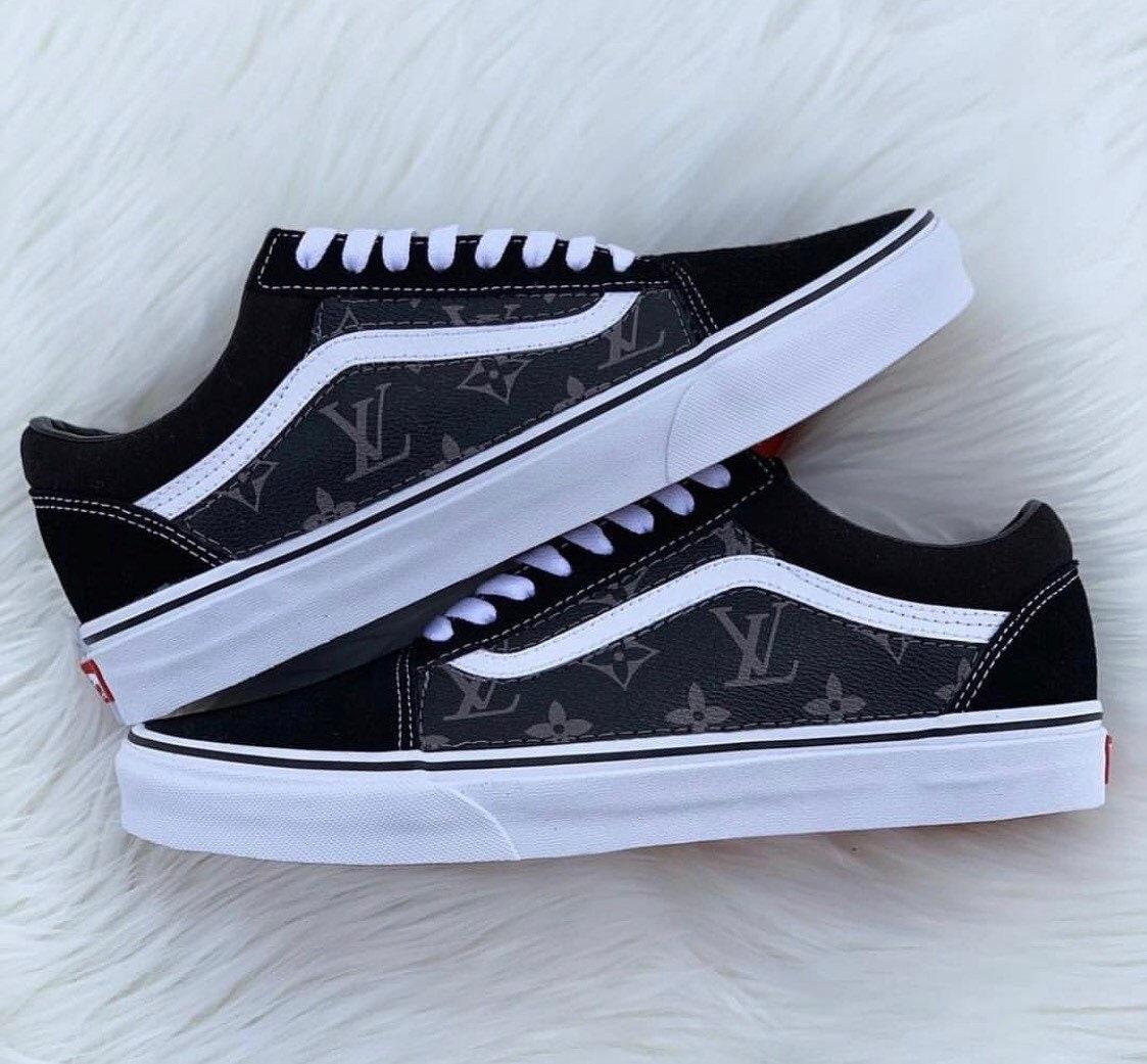 d53f475dd070 Black LV Old Skl Vans