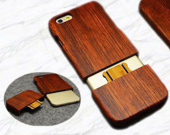 2618ae90de Hot Real Solid Wood, Wooden Phone Case | Best Seller for iPhone Models  iPhone 5, 6S, 7, 7 Plus, 8, 8 Plus X and XS Samsang S9,S7,S8