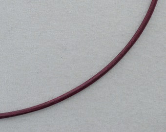 Silber #U209 Steck Clip Verschluss e für Lederband