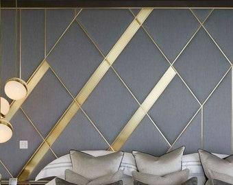 Soft panels Wall decor,Headboard, Wall Panels, Modern Bedroom Decor, Fabric Wall Decor, Upholstered Headboard, Montessori Bed,
