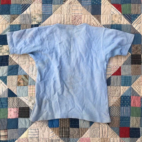 50s 60s Short Sleeved Sweatshirt - image 3