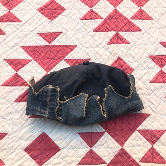 1930s 1940s Denim Whoopee Cap Jughead Crown