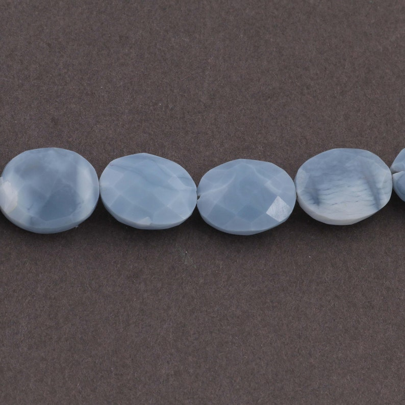jewelry making supplies 16mmx12mm 8 inches SP756 1 Strand Bolder Opal Oval Beads Faceted Blue Oregon Oval beads
