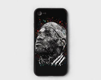 13027857b680 Lebron Painting - Tempered Glass - Designer Fashion Hypebeast iPhone 7 Plus  iPhone 8 Plus iPhone X XS iPhone XR iPhone XS Max