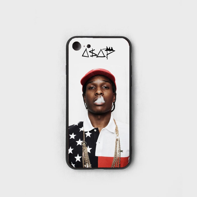 promo code 40a19 21c25 Asap Rocky Smoking - Tempered Glass - Designer/Fashion/Hypebeast iPhone 7  Plus/iPhone 8 Plus/iPhone X/XS/iPhone XR/iPhone XS Max