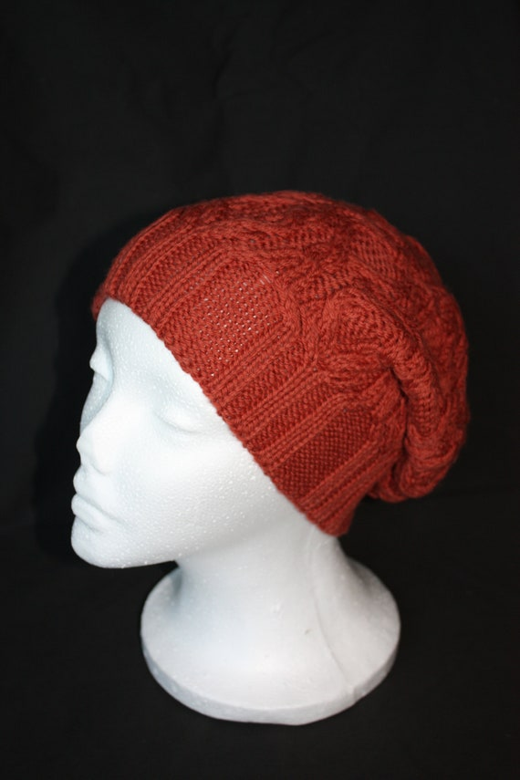 Cable Knit Wool Hat 0044f536886