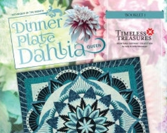 DINNER PLATE DAHLIA Technique of the Month