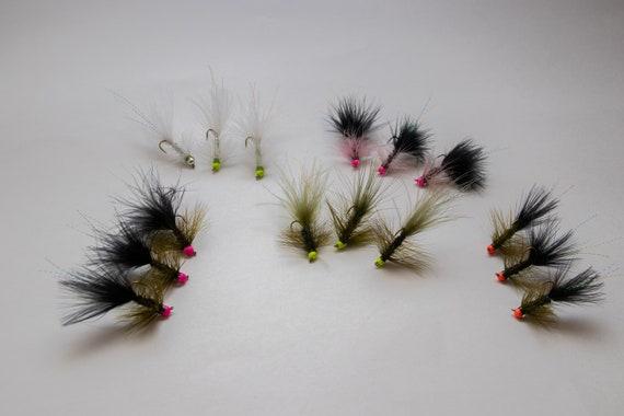 CHARTREUSE - Woolly Bugger Bead Head 1 dozen 12
