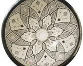 Moroccan Round Washbasin Sink Wash Basin Ceramic Handmade Hand Painted 40 cm or 30 cm pottery Handmade Painted by Artisan lavabot marocain
