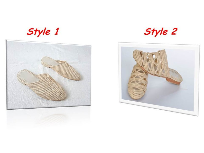 4fe970ed5c1fa Raffia Slipper shoes with cut-outs - handmade - straw bast rafia raphia  moroccan handmade babouches shoes natural summer 2019
