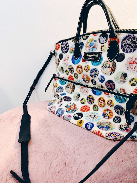 Vintage Disney Dooney and Bourke Park Buttons Prin