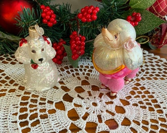Poodle Ornaments