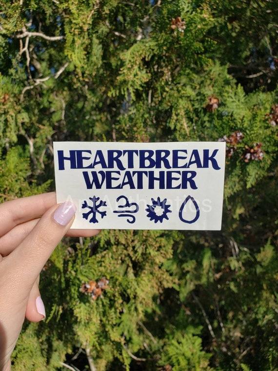 Niall Horan Inspired Heartbreak Weather Vinyl Sticker Etsy