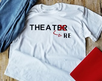 Broadway Musical Shirt Gift Theatre Lover Birthday Ideas For Her Or Him Gifts Play Rehearsal