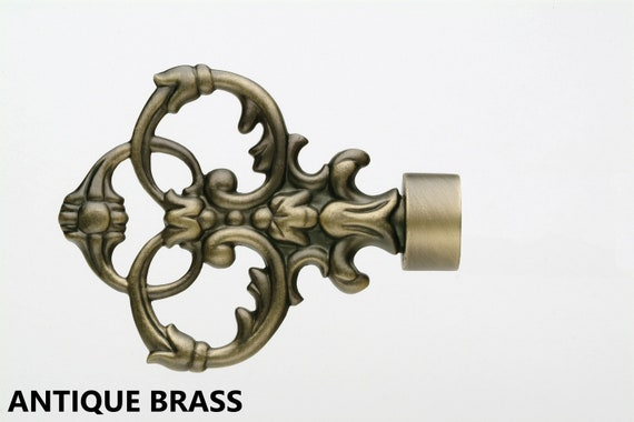 Decorative Curtain Rod Ends.Drapery Hardware Finials Drapery Rod Hardware Curtain Rod Ends Pair Of Finials Window Treatments Decorative Window Hardware Curtain Pole