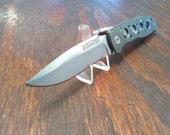 Smith Wesson Extreme Ops Tactical Folding Pocket Knife 1 Blade Plain Edge Liner Lock Pocket Clip