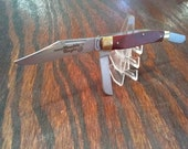 Vintage Frontier Imperial Double Eagle Folding Pocket Knife Made in USA