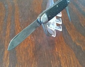 Vintage Camco Utility Camping Scout Folding Pocket Knife Made in the USA by Camillus