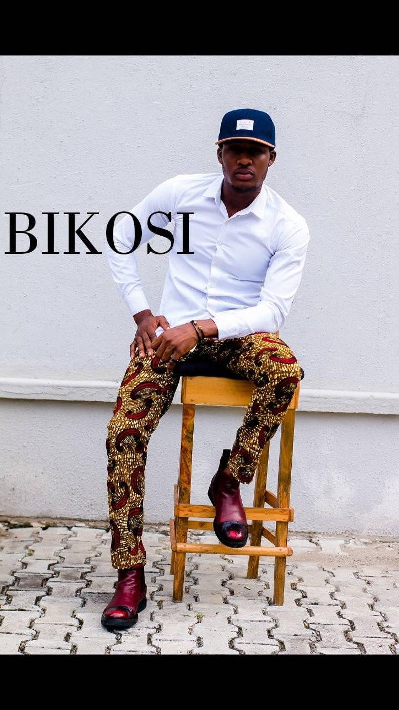 African Shirt /&Pants For Men Ankara Outfit for Men