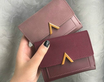 Small Womens Wallet Etsy