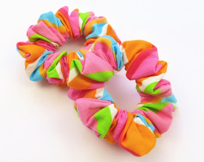Bright Mini Scrunchies Duo