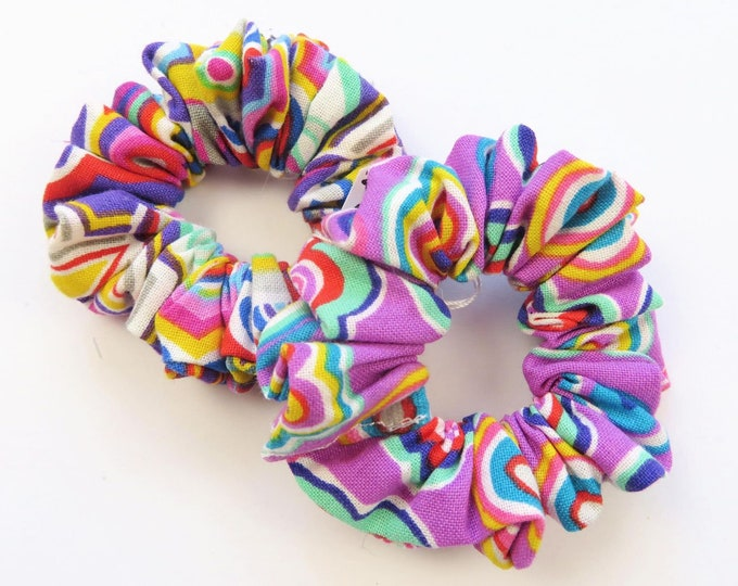 Funky Mini Scrunchies Duo