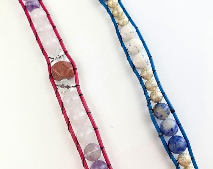 Beaded Crystal Bracelet Band