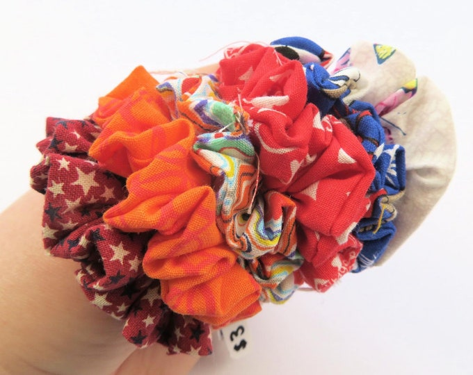Mini Colourful Scrunchies
