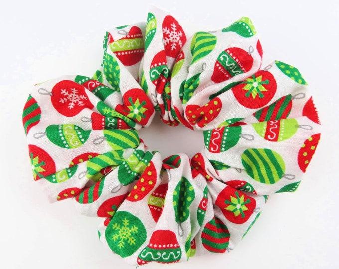 Bauble Christmas Scrunchie