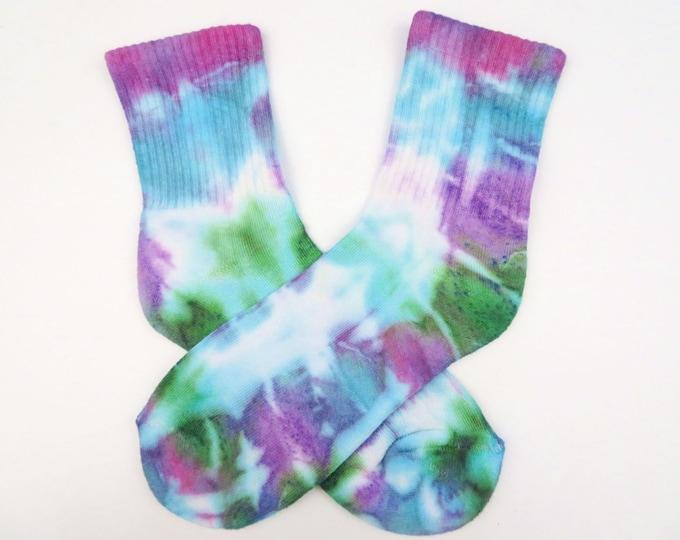 Rainbow Tie Dye Socks