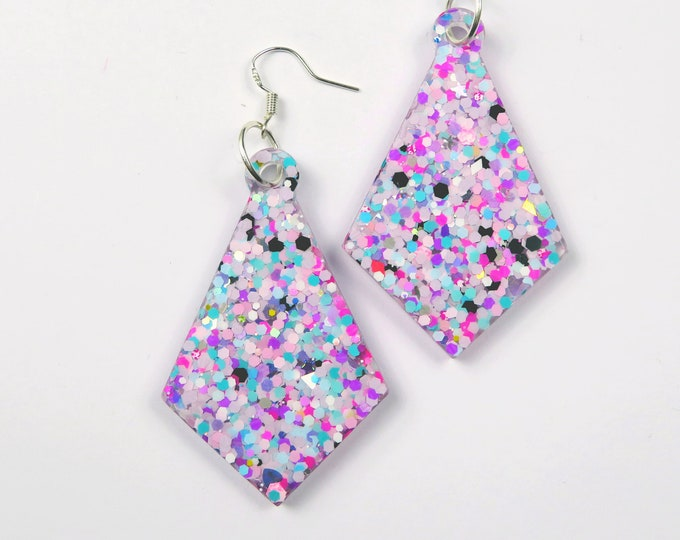 Glitter Resin Earrings