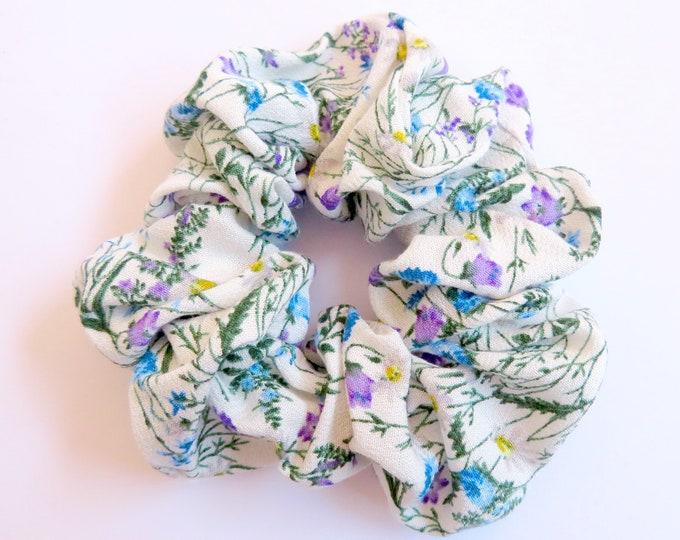 Paisley Floral Scrunchie