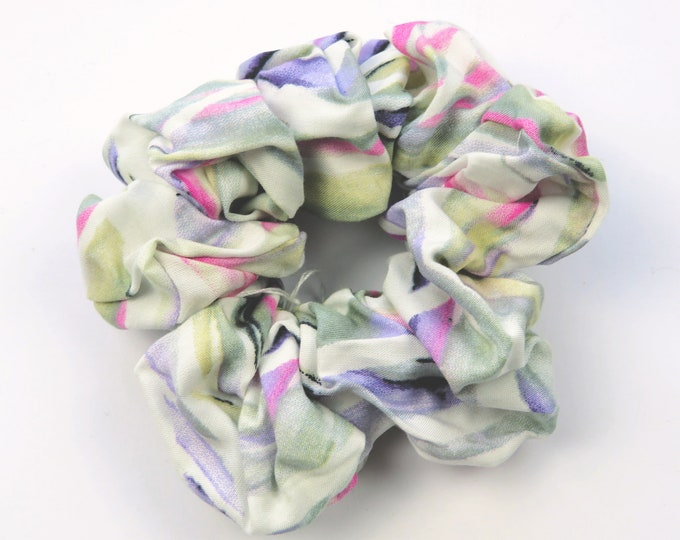 Pastel Abstract Scrunchie
