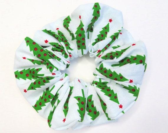 Christmas Tree Festive Scrunchies Hair Tie