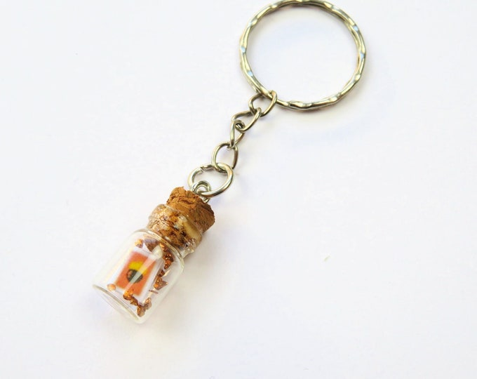 Animal Crossing New Horizons DIY Message Bottle Mini Keychain